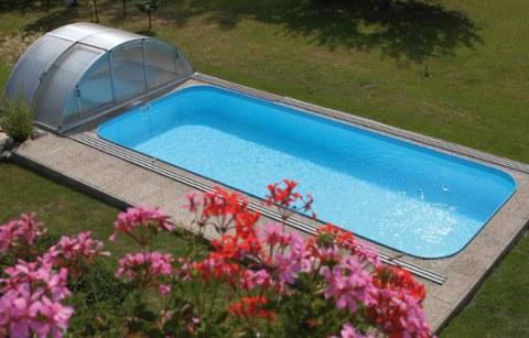 Piscina in vetroresina piscine in vetroresina acqua dream - Piscine interrate vetroresina offerte ...
