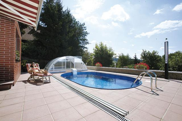 Vendita piscine interrate piscine prefabbricate toscana - Piscina seminterrata prezzi ...