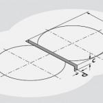 2. Alloggiamento per l'ossatura portante