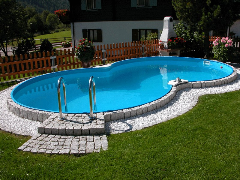 Vendita piscine interrate piscine interrate in kit riva for Piscina seminterrata