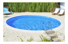 Vendita piscine interrate piscine interrate circolari - Piscina in lamiera ...