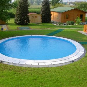 Piscine interrate rotonde maya